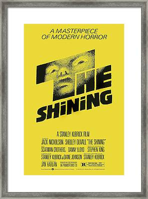 The Shining, Poster Art, 1980 Framed Print by Everett
