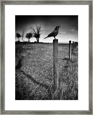 The Silent Warn  Framed Print by JC Photography and Art