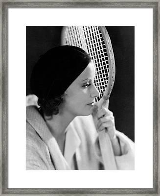 The Single Standard,greta Garbo, 1929 Framed Print by Everett