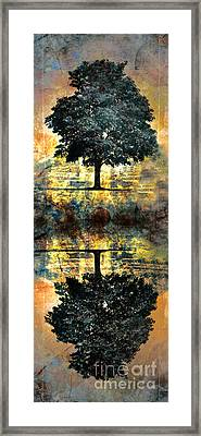 The Small Dreams Of Trees Framed Print by Tara Turner