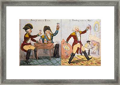 The Soldiers Definition Of Madness- Framed Print by Everett