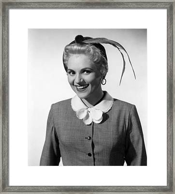 The Solid Gold Cadillac, Judy Holliday Framed Print by Everett