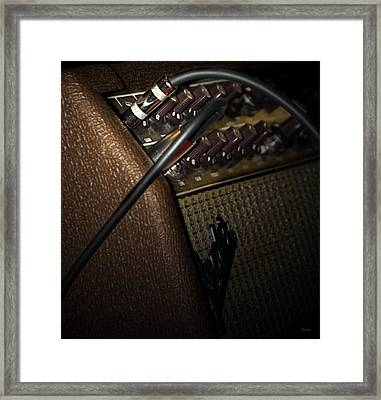 The Sound Of Vintage Tweed  Framed Print by Steven  Digman