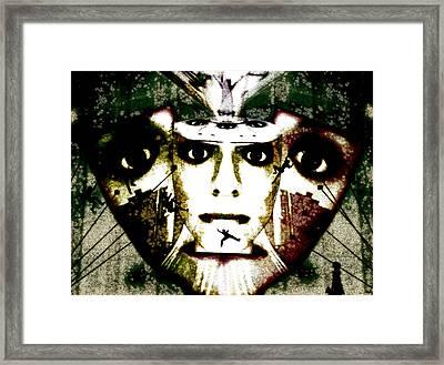The Source Framed Print by Jenn Bodro