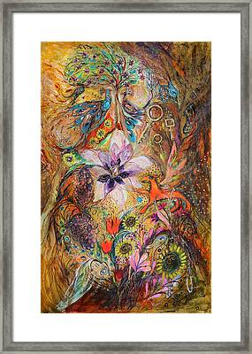 The Spirit Of Garden Framed Print by Elena Kotliarker