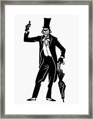 The Spirit Of Prohibition Framed Print by Granger