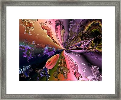 The Splendor Of Creation Framed Print by Claude McCoy