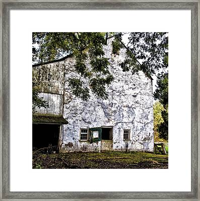 The Stone Barn Framed Print by Bill Cannon