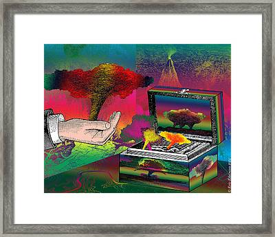 The Storm-keeeper Framed Print by Eric Edelman