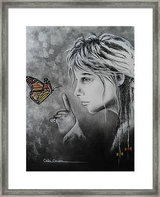 The Story Of Me Framed Print by Carla Carson