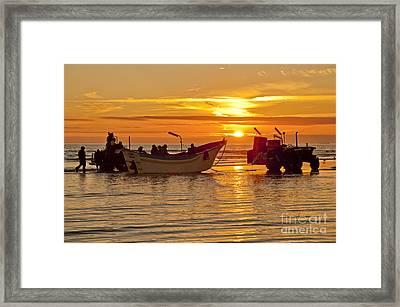 The Sun Framed Print by Armando Carlos Ferreira Palhau
