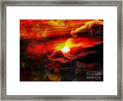 The Sunny Side Of Life Framed Print by Fania Simon