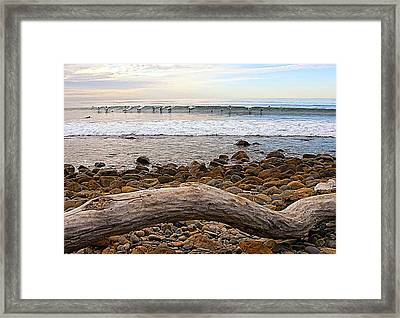 The Takeoff Framed Print by Ron Regalado