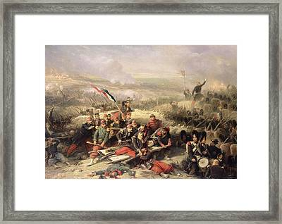The Taking Of Malakoff Framed Print by Adolphe Yvon