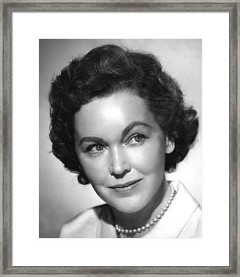 The Tall T, Maureen Osullivan, 1957 Framed Print by Everett