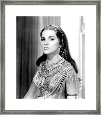 The Ten Commandments, Debra Paget, 1956 Framed Print by Everett