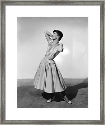 The Tender Trap, Debbie Reynolds, 1955 Framed Print by Everett