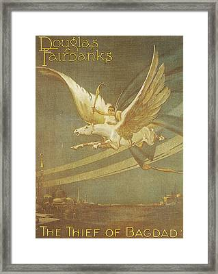 The Thief Of Bagdad Framed Print by Georgia Fowler