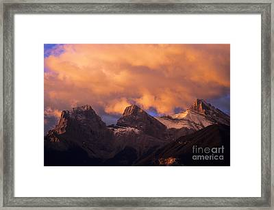 The Three Sisters Framed Print by Bob Christopher