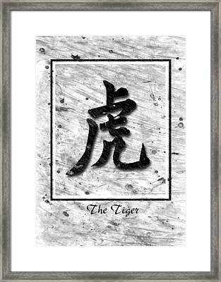 The Tiger  Framed Print by Mauro Celotti