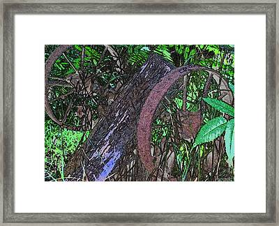 The Times Passed Framed Print by Debra     Vatalaro