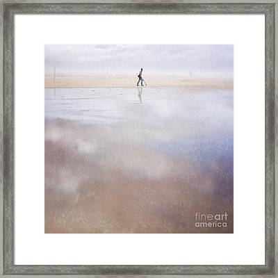 The Treasure Hunter Framed Print by Paul Grand