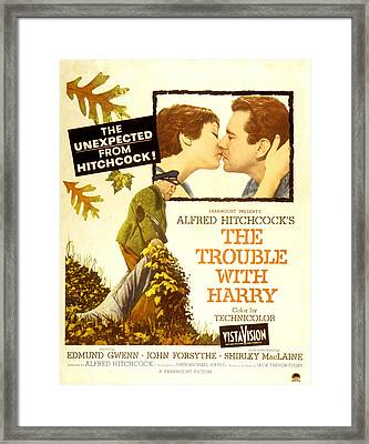 The Trouble With Harry, Shirley Framed Print by Everett