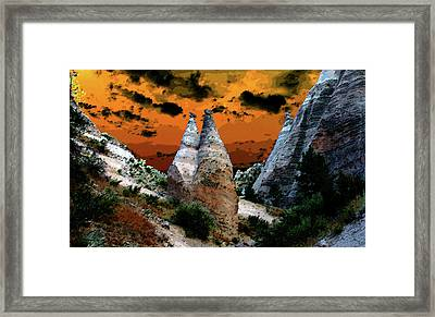 The Two Frenchmen Framed Print by David Lee Thompson
