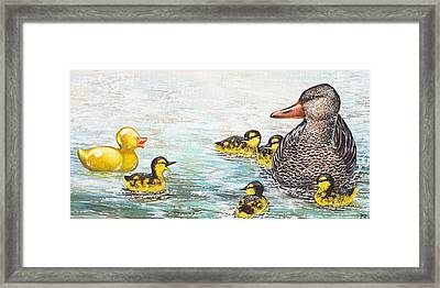 The Ugly Duckling Framed Print by Beth Davies