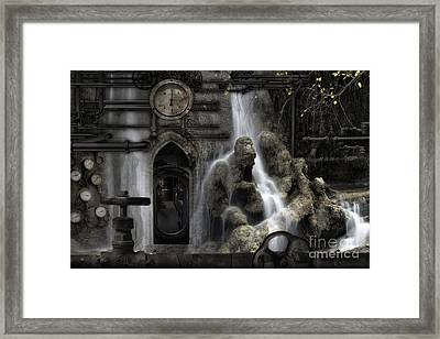 The Underworld Framed Print by Keith Kapple