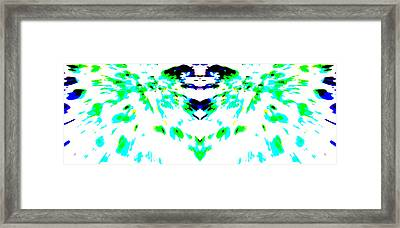 The Unfolding Framed Print by Danny Lally