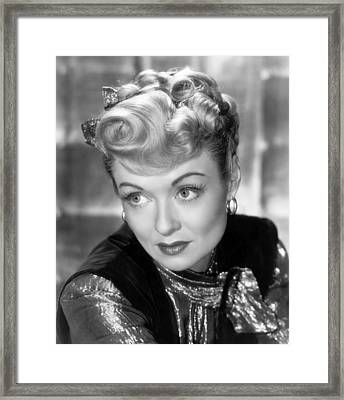 The Unsuspected, Constance Bennett, 1947 Framed Print by Everett