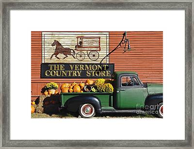 The Vermont Country Store Framed Print by John Greim