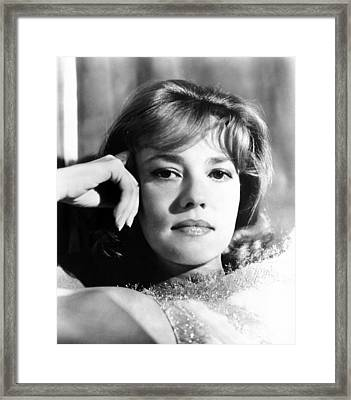 The Victors, Jeanne Moreau, 1963 Framed Print by Everett