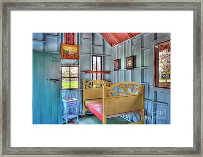 The Vincent Van Gogh Small House Framed Print by Tamyra Ayles