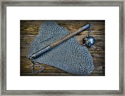 The Warriors Mace Framed Print by Paul Ward