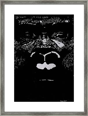 The Watcher Framed Print by Jim Ross