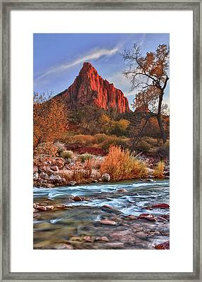The Watchman Framed Print by Beth Sargent