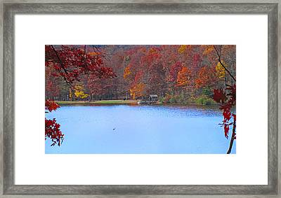 The Watershed Framed Print by Lynn Bauer