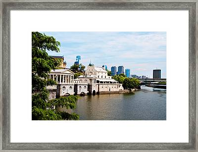 The Waterworks In Spring Framed Print by Bill Cannon