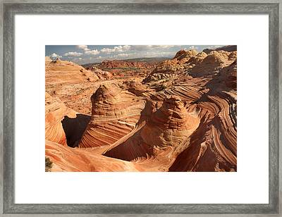 The Wave Framed Print by Farol Tomson