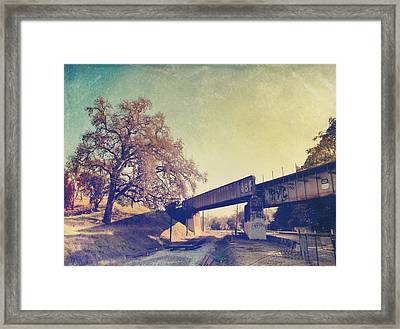 The Way I Felt That Day Framed Print by Laurie Search