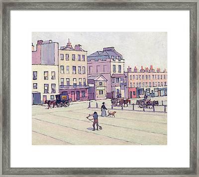 The Weigh House - Cumberland Market Framed Print by Robert Polhill Bevan