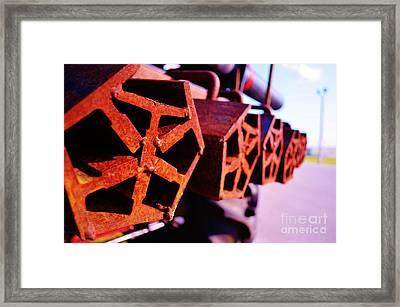 The Weight Framed Print by Lynda Dawson-Youngclaus
