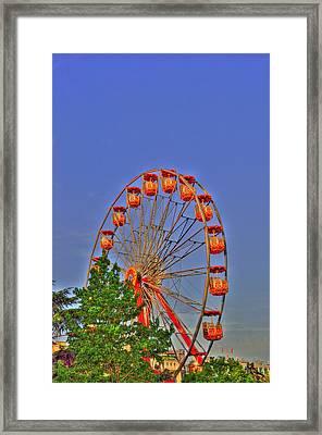 The Wheel Framed Print by Barry R Jones Jr