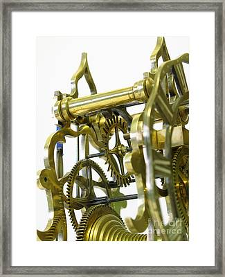 The Wheels Of Time Framed Print by John Chatterley