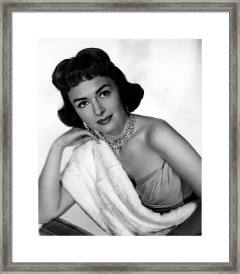 The Whole Truth, Donna Reed, 1958 Framed Print by Everett
