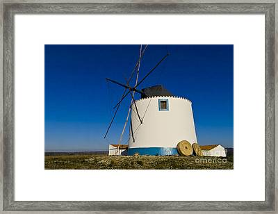 The Windmill Framed Print by Heiko Koehrer-Wagner