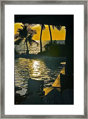 The Window To Fiji Framed Print by Susan Wells
