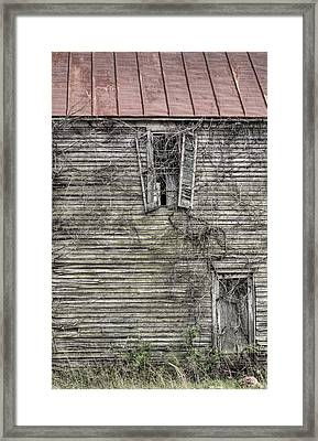 The Window Up Above Framed Print by JC Findley